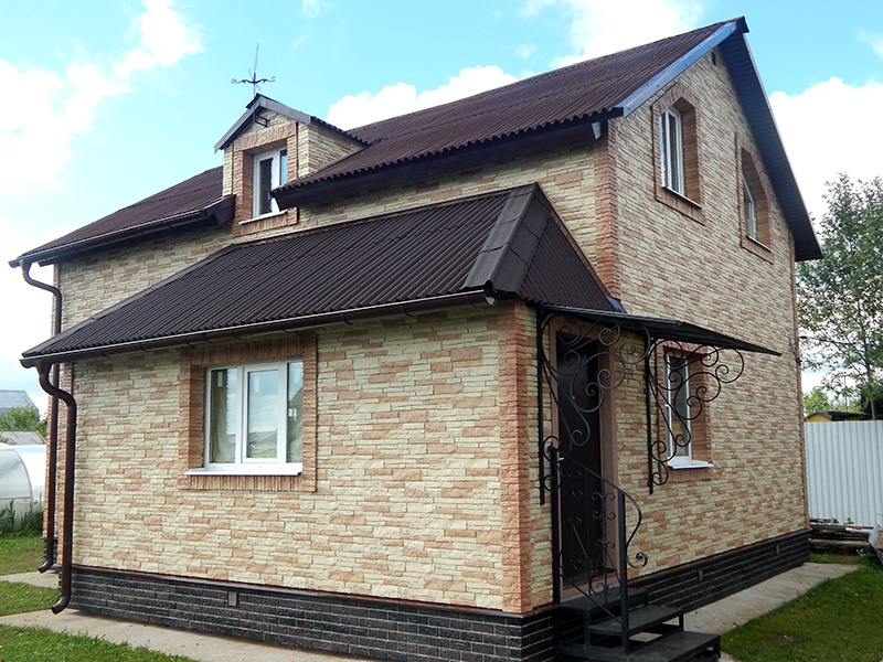 Элементы для отделки фасадов домов